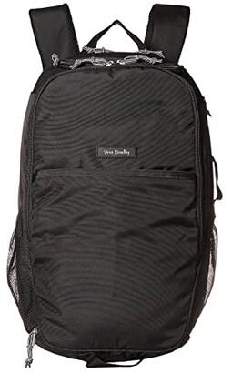 Vera Bradley Lighten Up Journey Backpack (Black) Backpack Bags