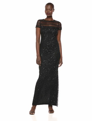 Adrianna Papell Women's Bead Tshirt Gown