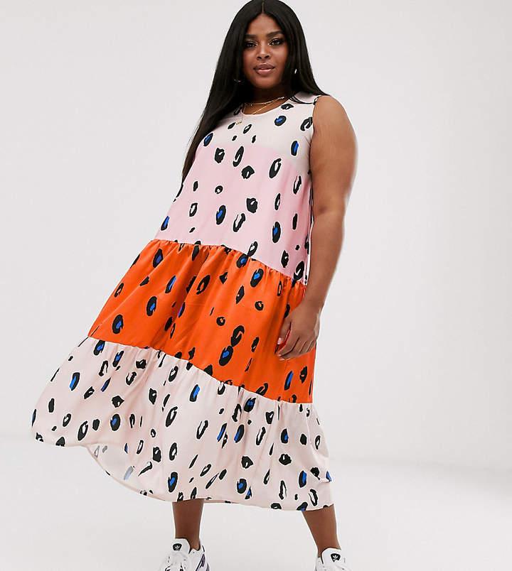 4cb57b2b9614 Plus Size Leopard Print Dress - ShopStyle Australia