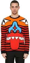 Givenchy Totem Patchwork Cotton Sweatshirt