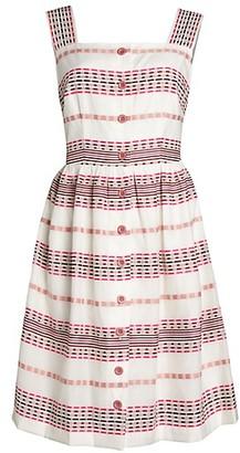 Gal Meets Glam Art Deco A-Line Dress