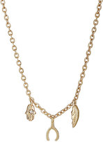 Jules Smith Designs WOMEN'S TRIPLE-CHARM NECKLACE