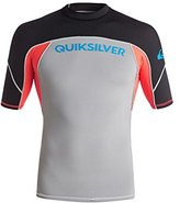 Quiksilver Men's Performer Short Sleeve Surf Tee Rashguard