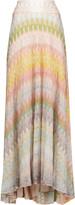 Missoni Crochet-knit midi skirt