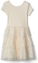 Gap Short sleeve tiered dress