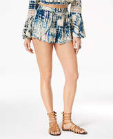 American Rag Juniors' Tie-Dyed Soft Shorts, Created for Macy's