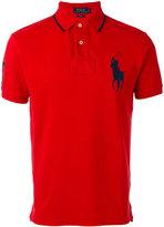 Polo Ralph Lauren logo patch polo shirt - men - Cotton - S