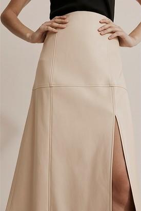 Country Road Panel Split Skirt