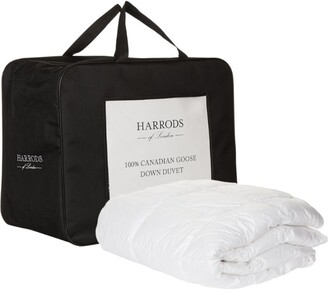 Harrods Single 100% Canadian Goose Down Duvet (13.5 Tog)