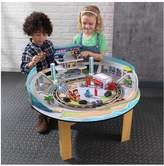 Disney KIDKRAFT Disney•Pixar Cars 3 Florida 55+ Piece Wooden Track Set with Accessories and Table