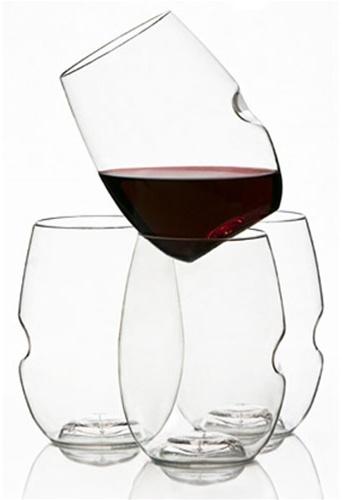 Govino shatterproof wine glasses (box of 4)