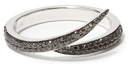 Shaun Leane Interlocking Diamond & 18kt White-gold Ring - White Gold