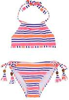 Snapper Rock Striped Two-Piece Swimsuit