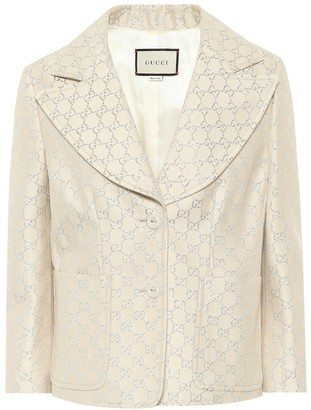Gucci GG lame jacket