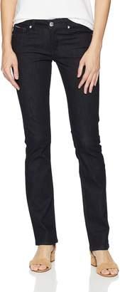 Tommy Hilfiger Women's Straight Leg Jeans Sandy Mid Rise Jeans
