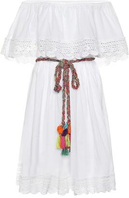 Anna Kosturova Janessa cotton midi dress