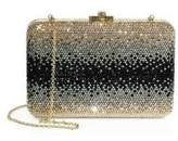 Judith Leiber Slim Ombre Crystal Box Bag