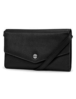 Timberland RFID Leather Wallet Phone Bag with Detachable Crossbody Strap