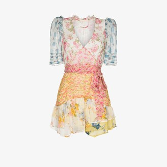LoveShackFancy Arlo picnic patchwork dress