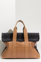 3.1 Phillip Lim '31 Hour' Leather Tote - Beige