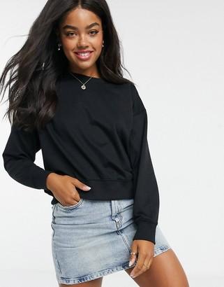 New Look sweatshirt in black