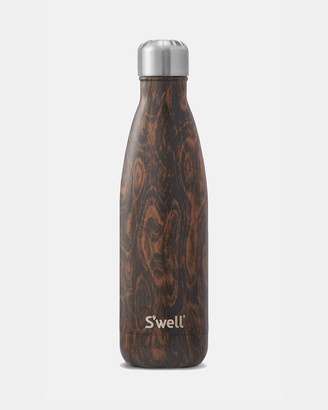 Swell Water Bottles - Insulated Bottle Wood Collection 500ml Wenge Wood - Size One Size at The Iconic