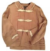 Louis Vuitton Camel Synthetic Jacket
