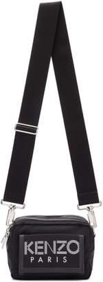 Kenzo Black Sport Logo Crossbody Bag