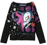 Desigual Girl's TS_RALEIGH Long Sleeve Top,104 cm (Manufacturer Size: 4/3/2016)