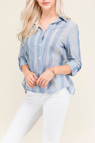 Polaroid Button Up Blouse