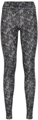 S'No Queen Lace Print Leggings