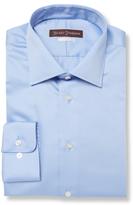 Hickey Freeman Classic Fit Broadcloth Cotton Dress Shirt