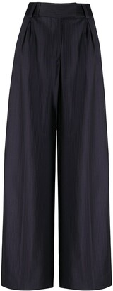 Gianfranco Ferré Pre-Owned 2000s Tailored Wide-Leg Trousers