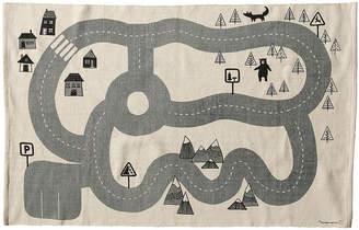 Bloomingville - Children's Road Map Cotton Rug