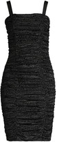 LIKELY Leopard Burnout Ruched Bodycon Dress