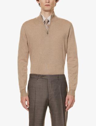 Canali High-neck wool jumper