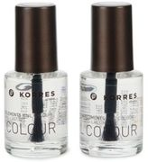 Korres Long-Lasting Top Base Coat Duo