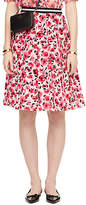 Kate Spade Mini rose pleated skirt