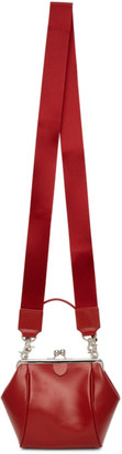Y's Ys Red Clasp Pochette Shoulder Bag