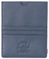 Herschel Men's Eugene Leather Card Case - Blue