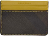 Burberry Yellow Sandon Card Holder