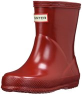 Hunter First Classic Gloss (Inf/Yth) - Military Red-UNISEX-6 Toddler