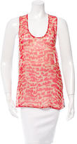 Timo Weiland Tree Print Silk Top