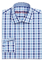 Robert Graham Boys' Large Check Dress Shirt - Big Kid