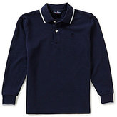 Brooks Brothers Little/Big Boys 4-20 Long-Sleeve Solid Pique Polo Shirt