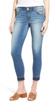 Women's Wit & Wisdom Ab-Solution Release Hem Stretch Skinny Jeans