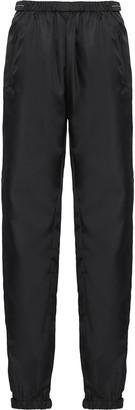 Prada cropped gathered track trousers