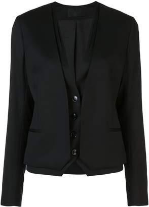 RtA double layer single-breasted blazer