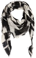 Htc Hollywood Trading Company Printed Wool & Silk Blend Scarf