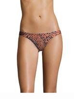 Vix Paula Hermanny Python Print Basic Full Bikini Bottom